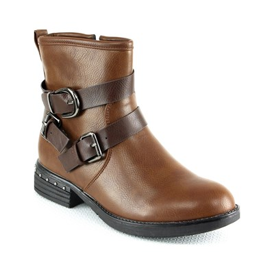 R AND BE Bottines - camel