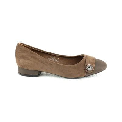R AND BE Ballerines - marron