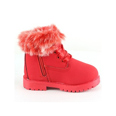 ROCK'N JOY Bottines - rouge