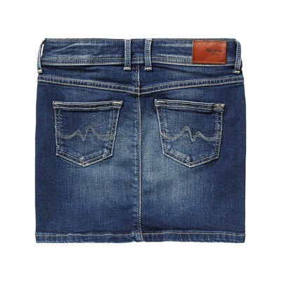 PEPE JEANS LONDON Monia - Falda recta - azul jean