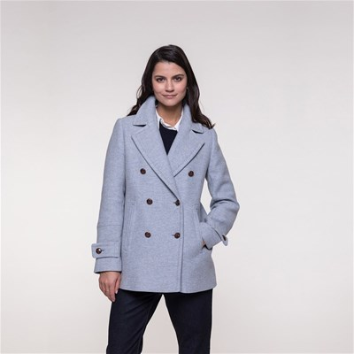 Bleu Ciel And Laine Trench Coat 70 Caban xqwa0URRg