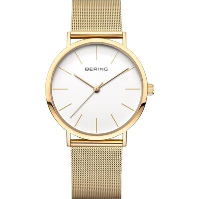 Bering 13436-334 - montre analogique - or