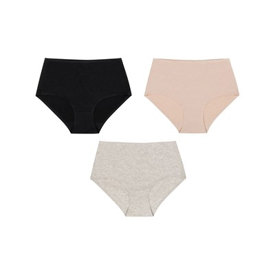 Julimex Lot de 3 shorty - multicolore