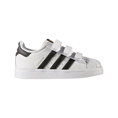 Adidas Originals superstar - baskets en cuir - blanc
