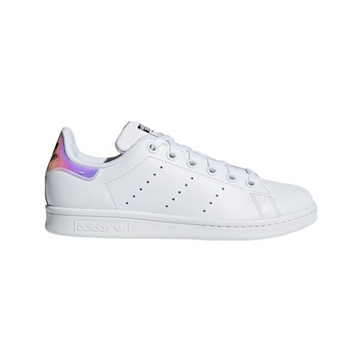 ADIDAS ORIGINALS Stan Smith J - Baskets en cuir - blanc