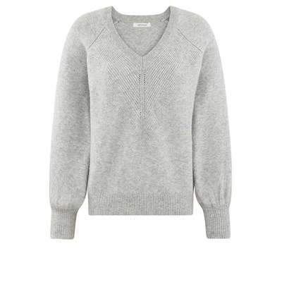 Pull V Gris Promod Clair Col qCaxUwFFB