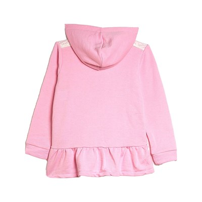 BENETTON Zerododici - Sweat à capuche - rose