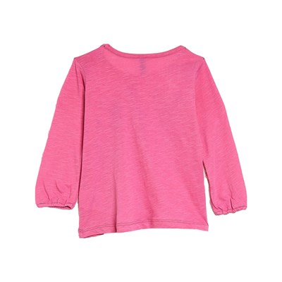 BENETTON T-shirt imprimé - rose