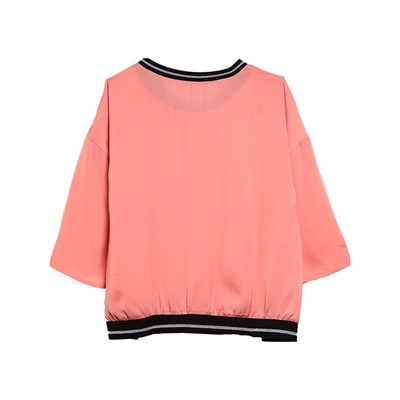 BENETTON Blouse fantaisie - rose