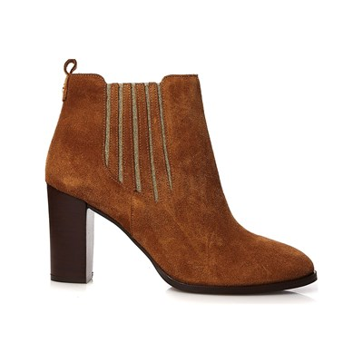 COSMOPARIS Vikki - Bottines en cuir - cognac
