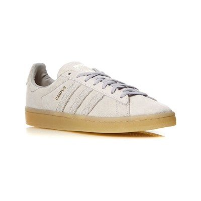 Adidas Originals campus w - baskets en cuir - gris clair