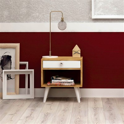Home & living table de chevet - blanc