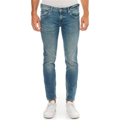 Jean Azul Pepe London Hatch Jeans Slim Tcnqgvn