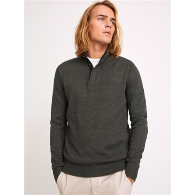 CELIO Merome Heather - Pull - anthracite