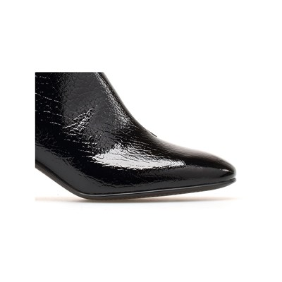 Vicky En For Cuir What Noir Bottines RZOwFx5x