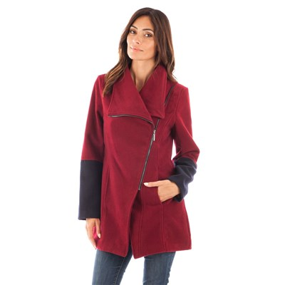 CLAUDIA FABRI Manteau - bordeaux