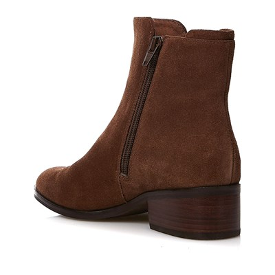For Taupe En What Bottines Cuir Suédé Hpwqf