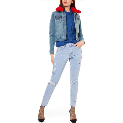Jeans In Noisy Giacca Debra May Blu qIfBF
