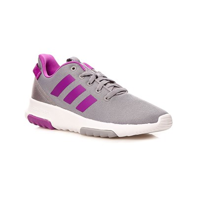 Adidas Originals cf racer tr k - baskets basses - gris clair