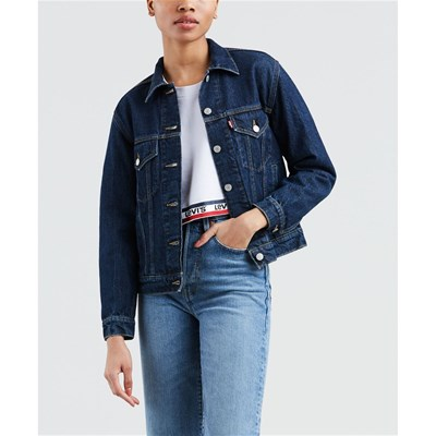 Levi's In Jeans Scuro Blu Giacca qxwPST