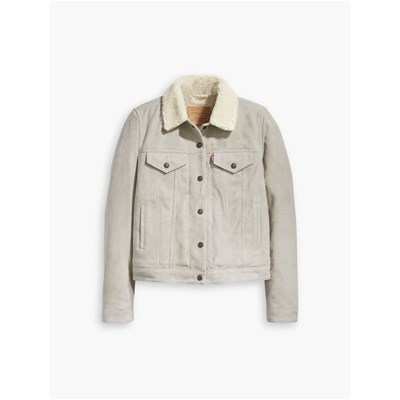 Levi's Levi's Pelle In Beige Giacca Giacca qSYpdxOnwx