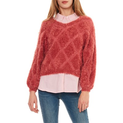 ONLY Pullover - indisches rosa
