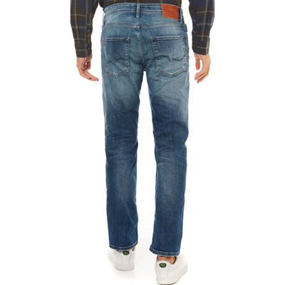 JACK & JONES JJIClark JJOriginal Noos - Jean regular - bleu jean