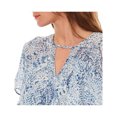 MOLLY BRACKEN Top - bleu