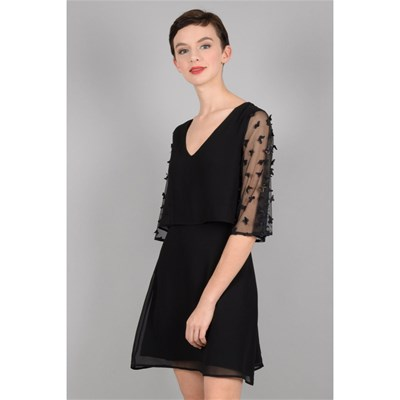 Molly Vestido Bracken RectoNegro Bracken Vestido RectoNegro Molly CtsdhxQr