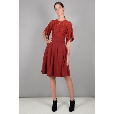 Molly Bordeaux Bracken Da Vestito Pattinatrice UXFpqU