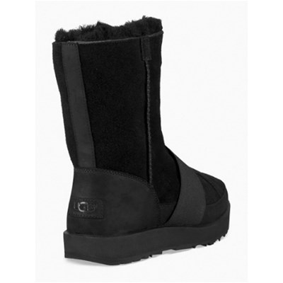 UGG Bottines en cuir - noir