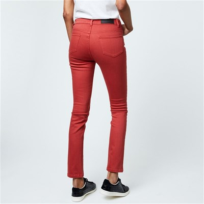 MONOPRIX Jean regular - rouge