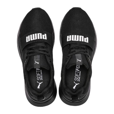 PUMA Wired - Baskets basses - noir