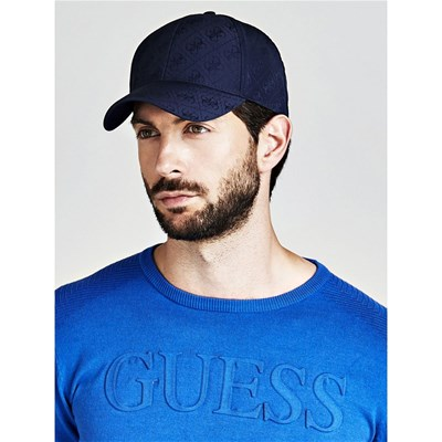 Casquette over All Guess Bleu Logo pP6cx8qw