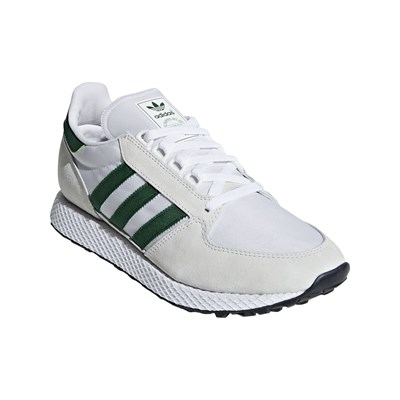 Adidas Originals forest grove - baskets en cuir bi-matière - blanc