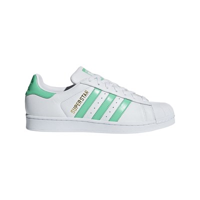 Adidas Originals superstar - baskets en cuir bi-matière - blanc