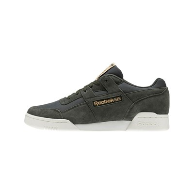 REEBOK CLASSICS Workout Plus Mu - Sneakers - kaki