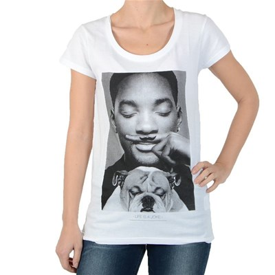 ELEVEN PARIS Wolly w will smith - T-shirt manches courtes - blanc