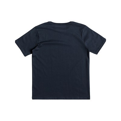 QUIKSILVER Thejunglessyth B tees - T-shirt manches courtes - bleu