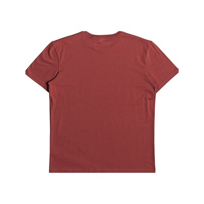 QUIKSILVER M And W - T-shirt manches courtes - rouille
