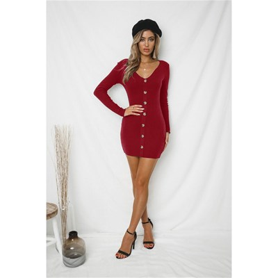 Holary Robe pull - rouge