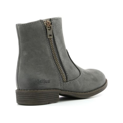 KICKERS Rox - Bottines en cuir - gris