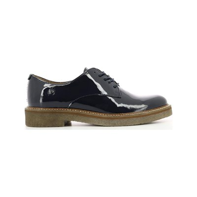 KICKERS Oxfork - Derbies en cuir - bleu marine