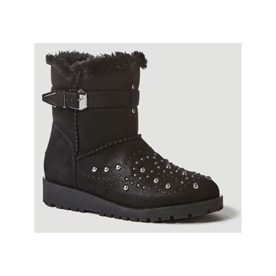 Guess Bottines Leela Guess Noir Leela YWqrgnxY