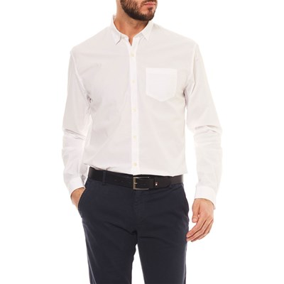 Bill Tornade Mariote - Chemise manches longues - blanc