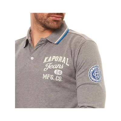 Polo Grigio Kaporal Polo Longues Kaporal Manches 8wxwEUfqR