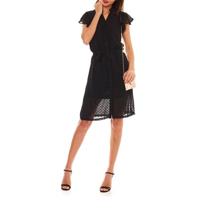 MOLLY BRACKEN Robe fluide - noir