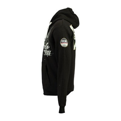 Capucha Norway Con Geographical Negro Sudadera qRCwxUx