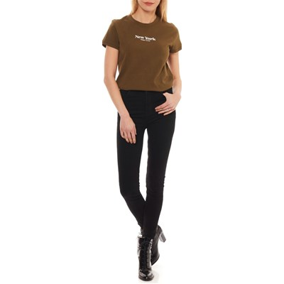 TOMMY JEANS T-shirt manches courtes - olive
