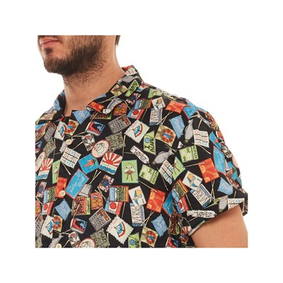 Chemise amp; Multicolore Soda Courtes Scotch Manches naqw7AwY